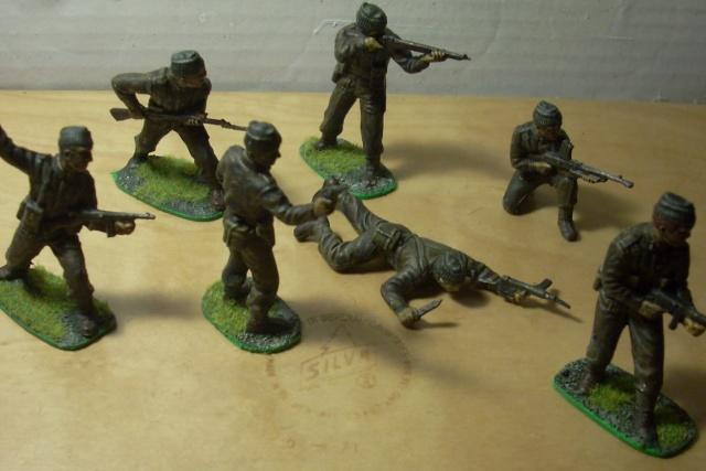 Bild på leksakssoldater.